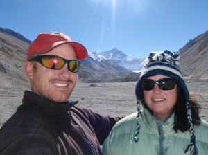 Us at Everest Base Camp (Tibet)