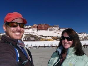 Potala Palace, Lhasa, Tibet, us.