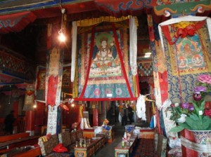 For a fee you can take photos inside the Drepung Monastery; it's beautiful.