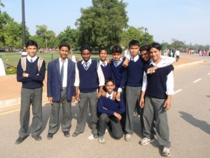 Indian schoolboys aka cricket nutters