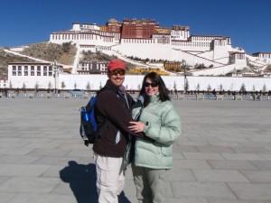 Potala Palace, Lhasa, Tibet - January 2009
