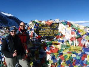 Thorung La (5416m), Nepal.  December 2008