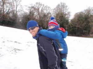 Just one more piggy back please Uncle Scott