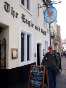 The Eagle & Child, stomping ground of Tolkein & Lewis