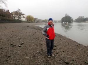 Thames riverbank