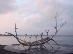 Reykjavik is full of art and sculptures