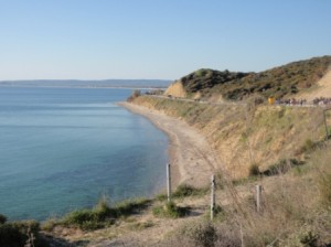 Anzac Cove - not much space to land the troops!