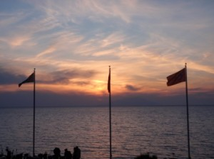 Sunset at Anzac Cove 2011