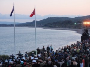 Dawn Service - Anzac Cove 2011