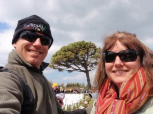 Us in front of Lone Pine 2011
