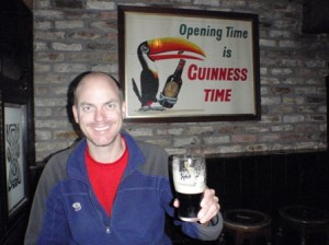 Scott is starting to believe the Guinness marketing!