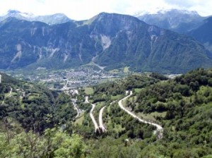 Alpe d'Huez from our viewpoint