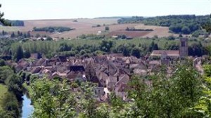 The village from the chateau ruins