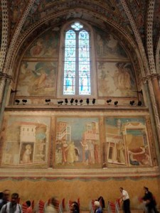 The frescoes are gorgeous