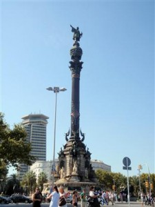 Christopher Columbus monument