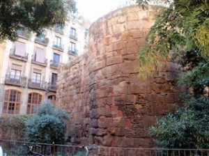 The roman ruins