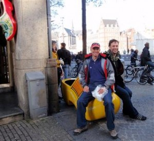When in Holland... you sit on a clog
