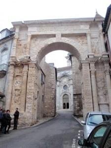 The roman gate